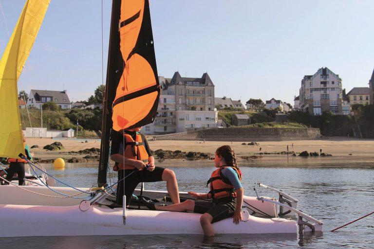 Camping De Kervoen | Camping 3 étoiles à Clohars Carnoët : 1 Base Nautique Pouldu Clohars Carnoet Lorient Groix Morbihan Bretagne Sud 14251