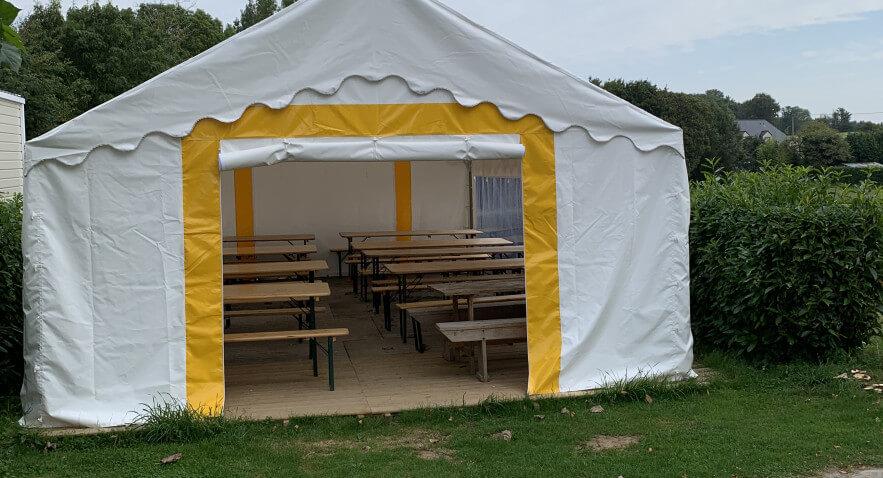 Camping De Kervoen   Camping 3 étoiles à Clohars Carnoët : 2311 883x478