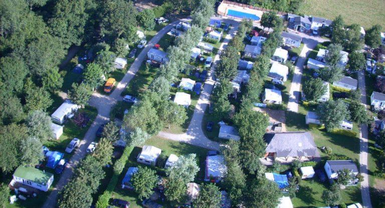 Camping De Kervoen | Camping 3 étoiles à Clohars Carnoët : Camping Vue Du Ciel