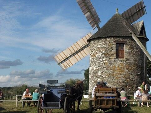 Camping De Kervoen | Camping 3 étoiles à Clohars Carnoët : Moulin Milin Avel 4clohars